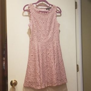 City Studio Dresses - City Studio Juniors Pink Lace Dress 7 New